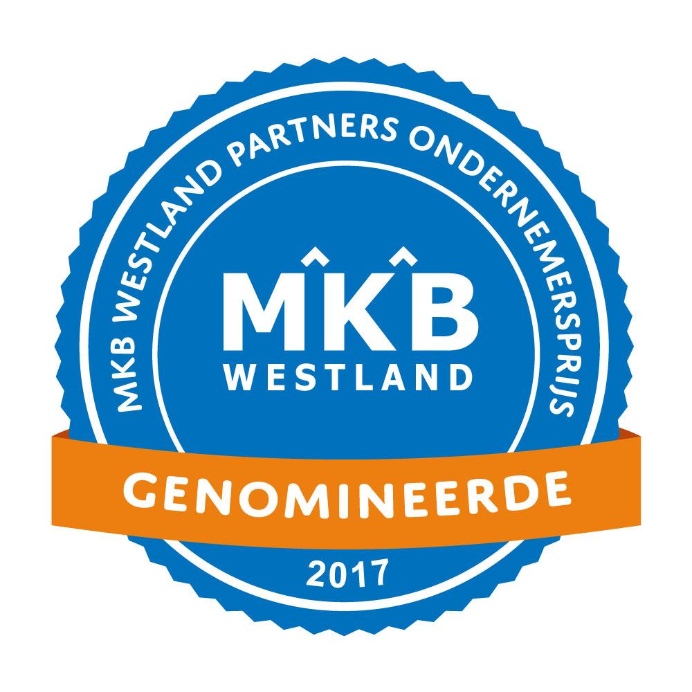Genomineerden MKB Westland Partners Ondernemersprijs 2017 bekend