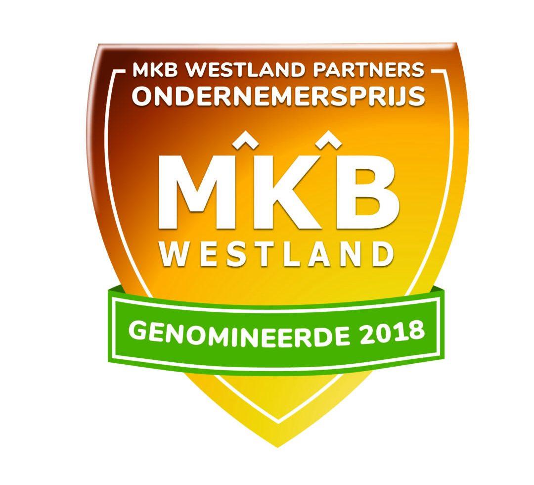 Genomineerden MKB Westland Partners Ondernemersprijs 2018 bekend