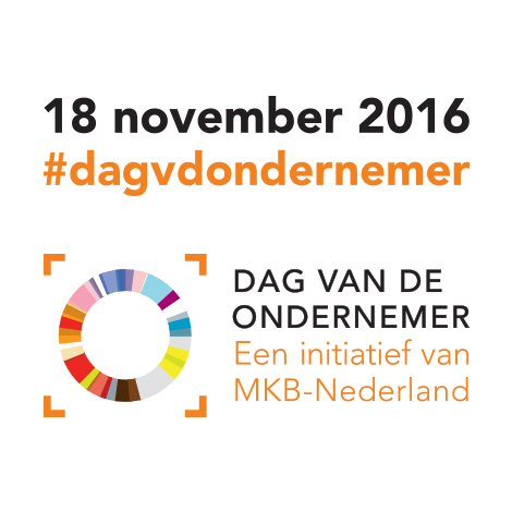 Dag van de Ondernemer: 18 november 2016