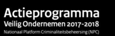 Actieprogramma Veilig Ondernemen 2017-2018