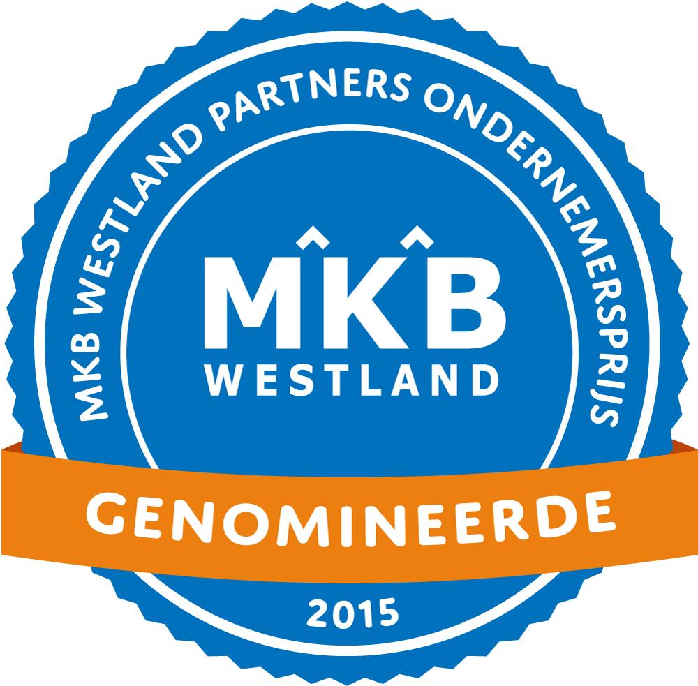Genomineerden MKB Westland Partners Ondernemersprijs 2015 bekend