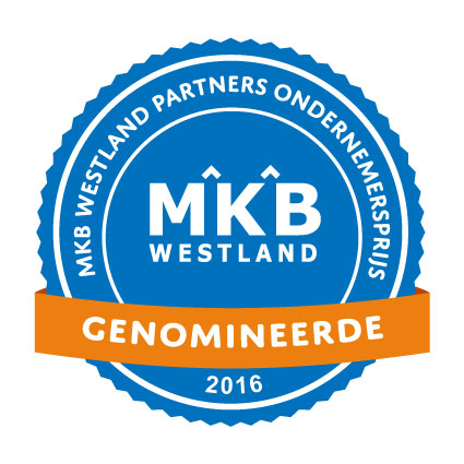 Genomineerden MKB Westland Partners Ondernemersprijs 2016 bekend