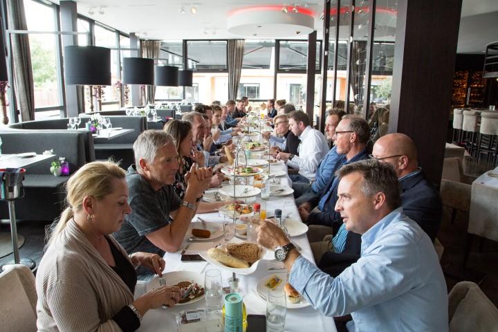Businesslunch Meet&Greet nieuwe leden groot succes!