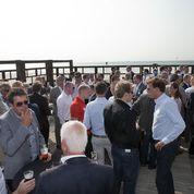 Druk bezochte 'BeachPraet' met nieuwe sponsor Koornneef Retail Groep