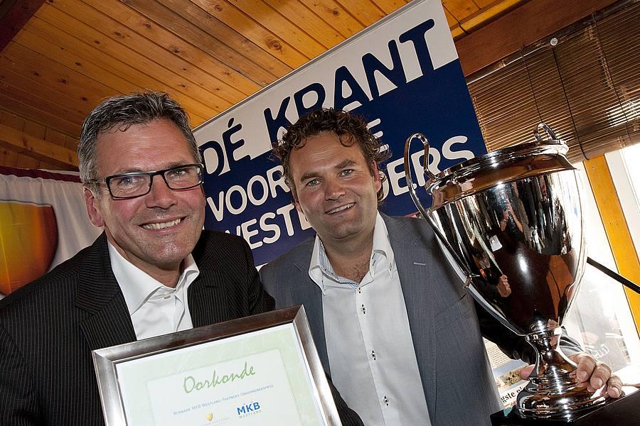 Mooi wint MKB Westland Partners Ondernemersprijs 2011