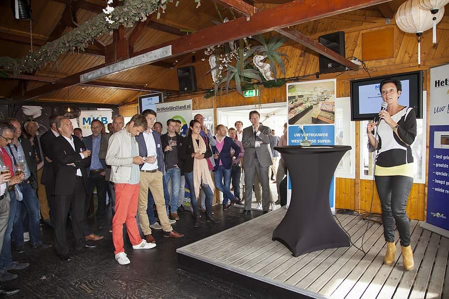Ruim 200 ondernemers aangewaaid bij MKB Westland 'BeachPraet'