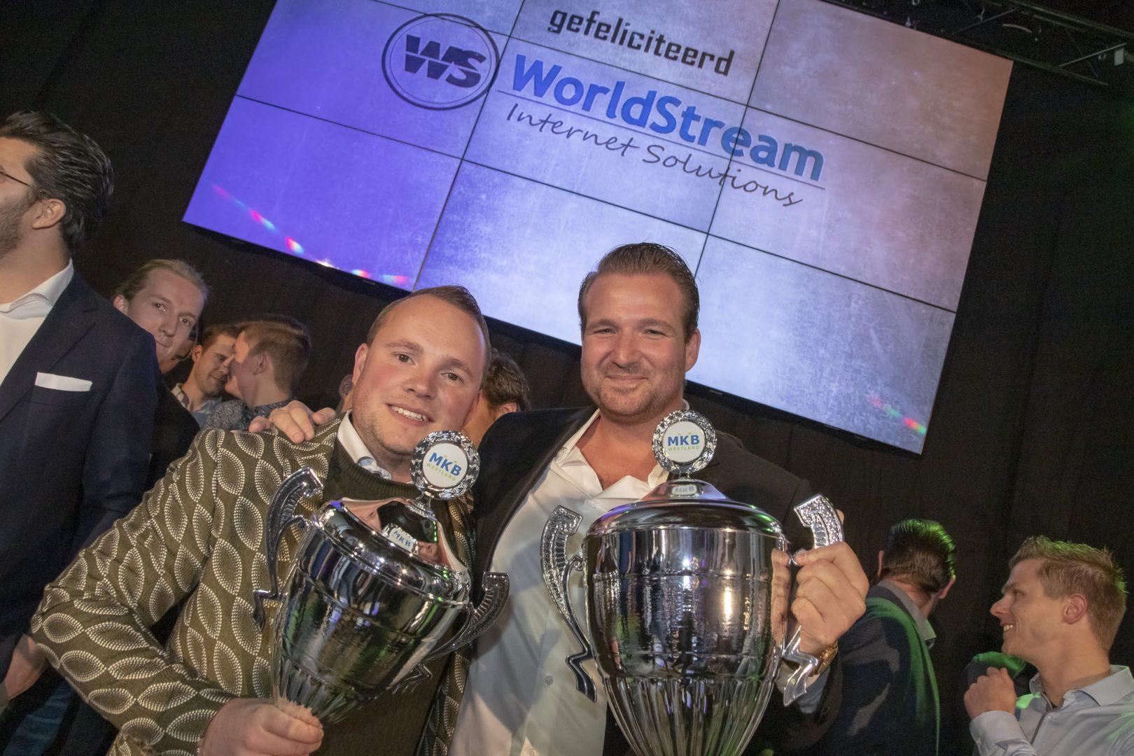 WorldStream wint MKB Westland Partners Ondernemersprijs 2018