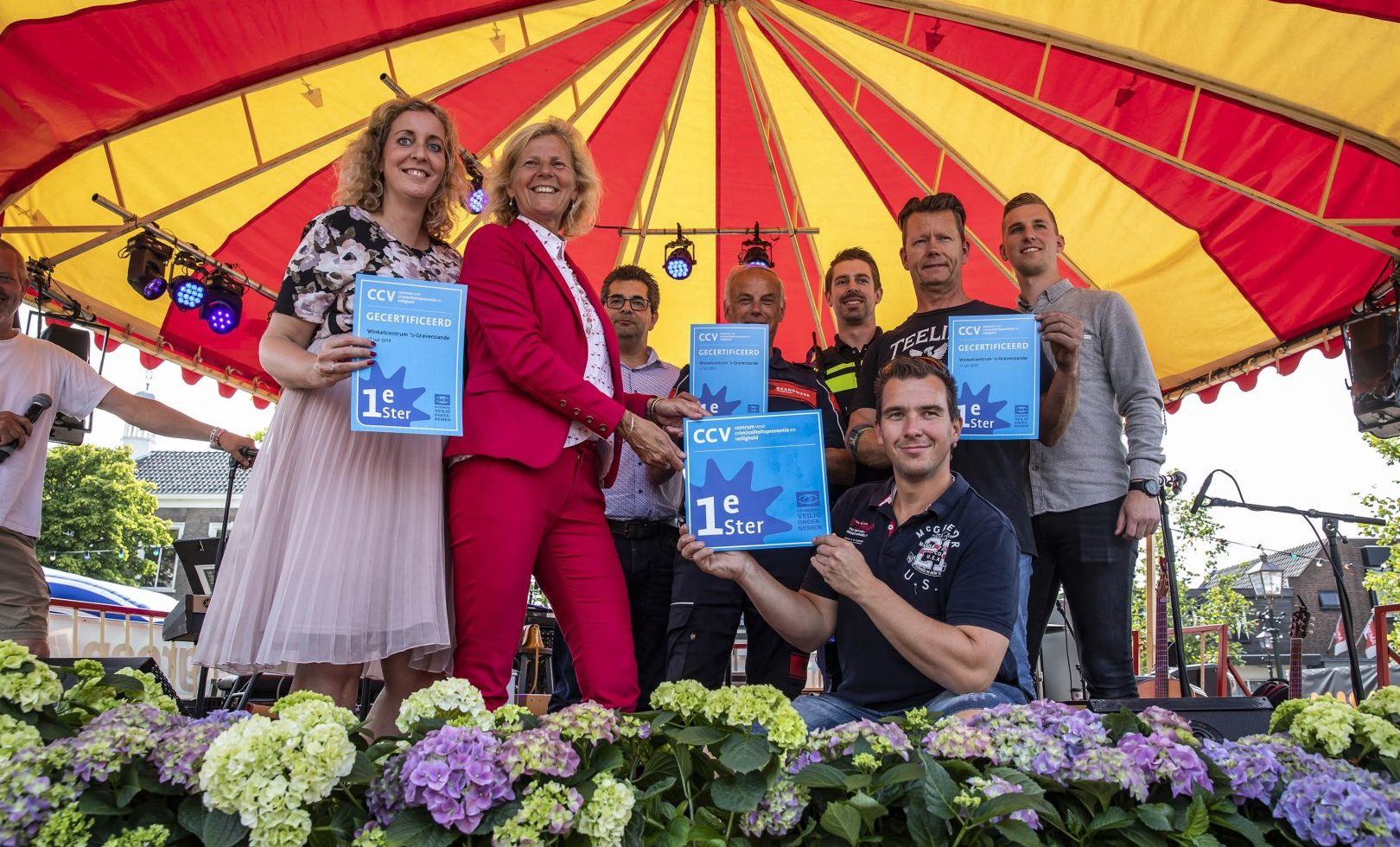 KVO: 1e ster behaald door samenwerking ondernemers, gemeente, politie, brandweer en MKB Westland