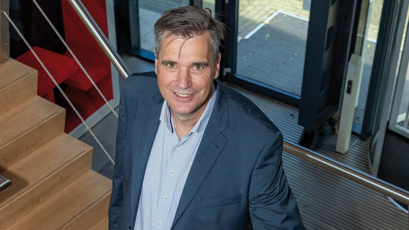 Frank Binnekamp van Westland Infra