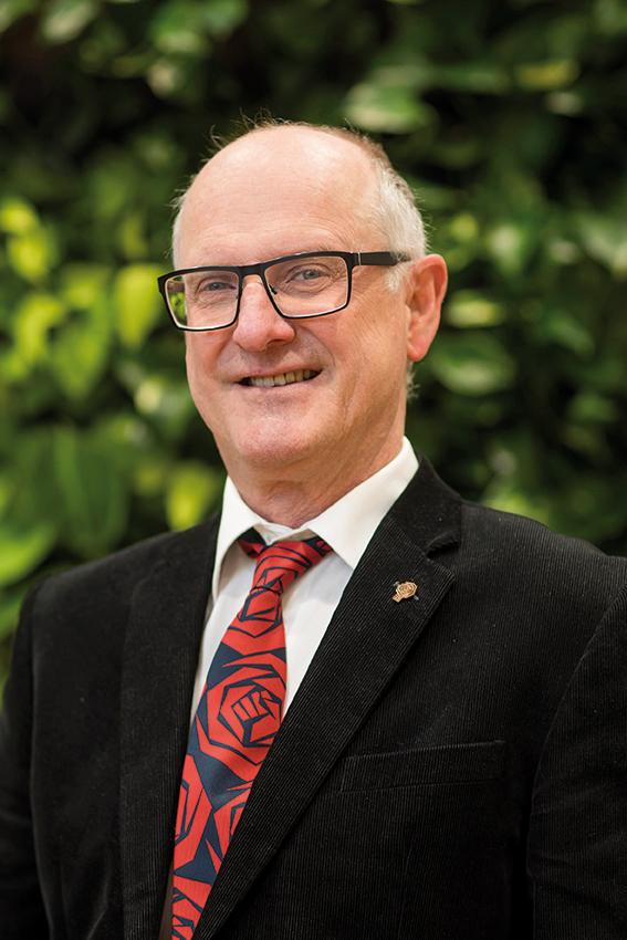 Fractievoorzitter Nico de Gier, PvdA Westland