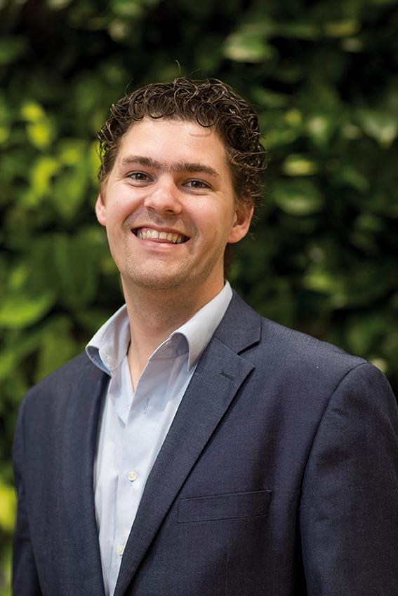 Fractievoorzitter Dave van Koppen, LPF Westland