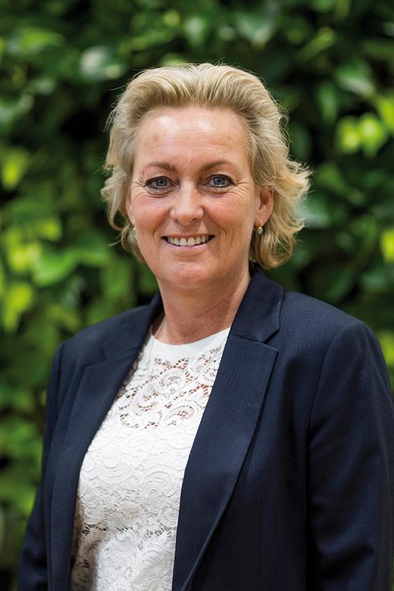 Fractievoorzitter Jenny Vermeer, CDA Westland