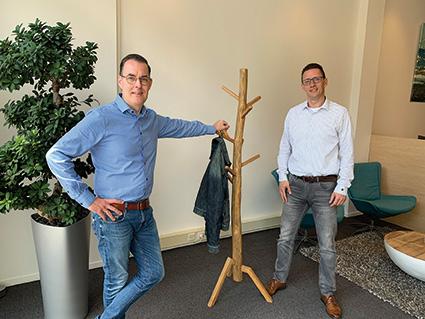 Nieuwe leden (Arjen Bronsveld en Robbert Blok van Bronsveld & Blok Financiële Planning)
