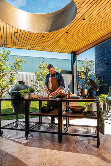 Big Green Egg ʻvanuit Westland  europa veroveren'