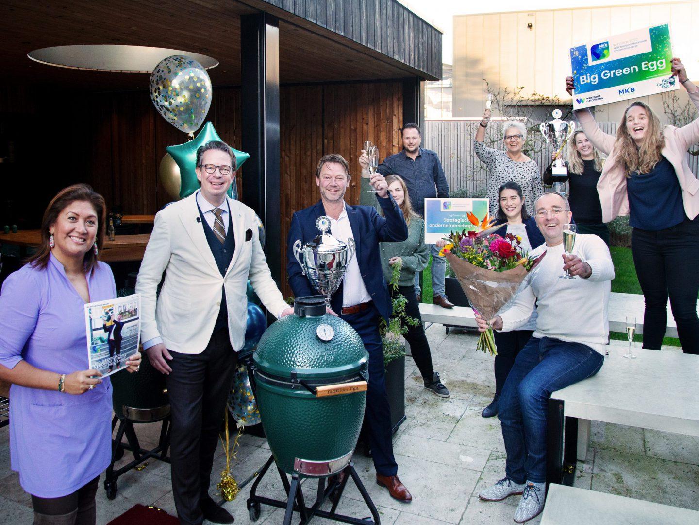 Big Green Egg winnaar MKB Westport Notarissen Ondernemersprijs 2020