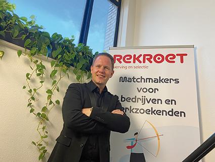 NIEUWE LEDEN: Peter Hoogerwerf van Rekroet Werving en  Selectie