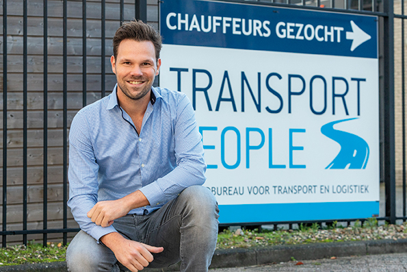 NIEUWE LEDEN: Koen van Zeijl van Transport People
