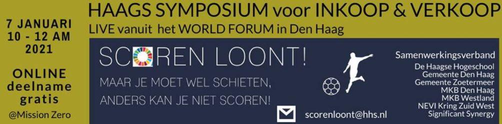 Inkoopsymposium (online) Haagse Hogeschool op 7 januari