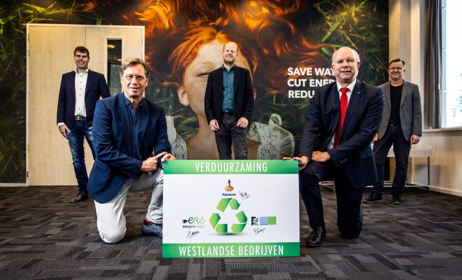 Rabobank en Gemeente Westland bieden bedrijven unieke kans op verduurzaming