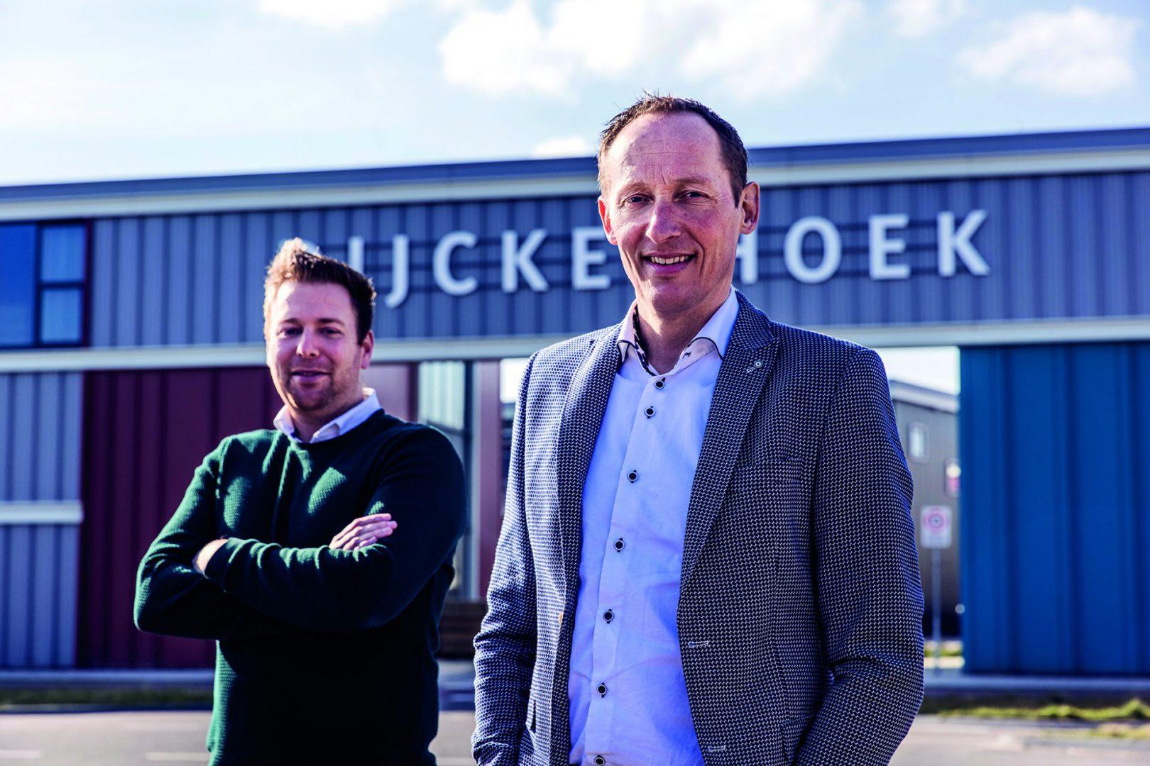NIEUWE LEDEN: Arjan Herreveld en Edwin Struik