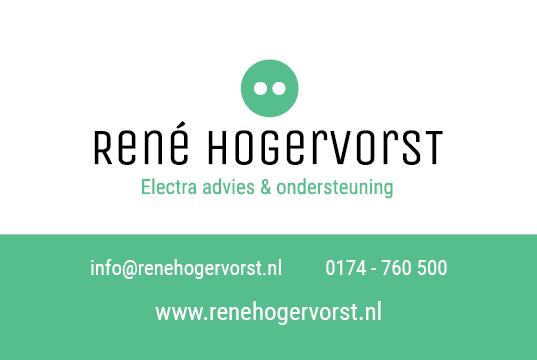 RENÉ HOGERVORST Electra advies & ondersteuning