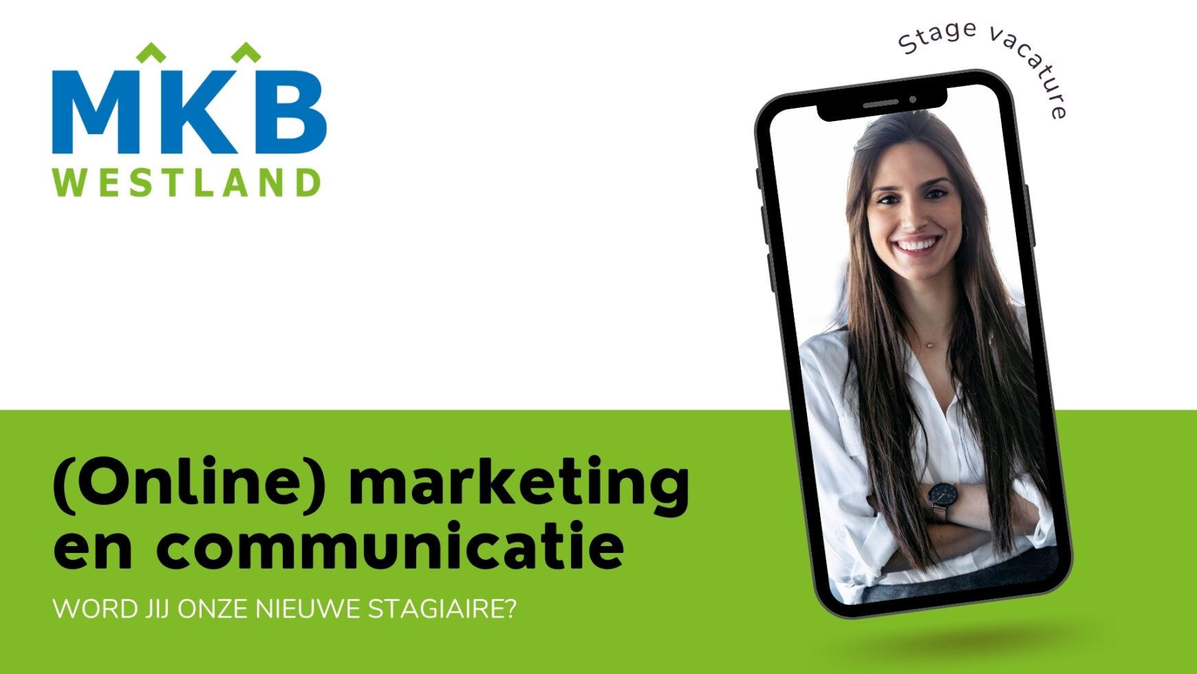 Vacature: Stage (online) marketing- en communicatie