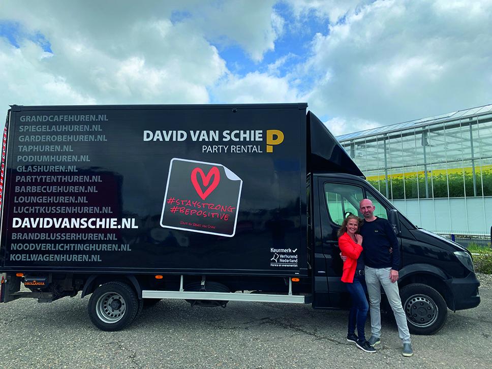 NIEUWE LEDEN: David en Renee van Schie