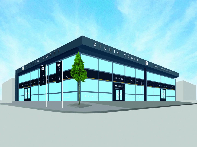 STUDIO SOSEF  'Sosef-Knaap verhuisd naar Naaldwijk én introduceert  iets nieuws'