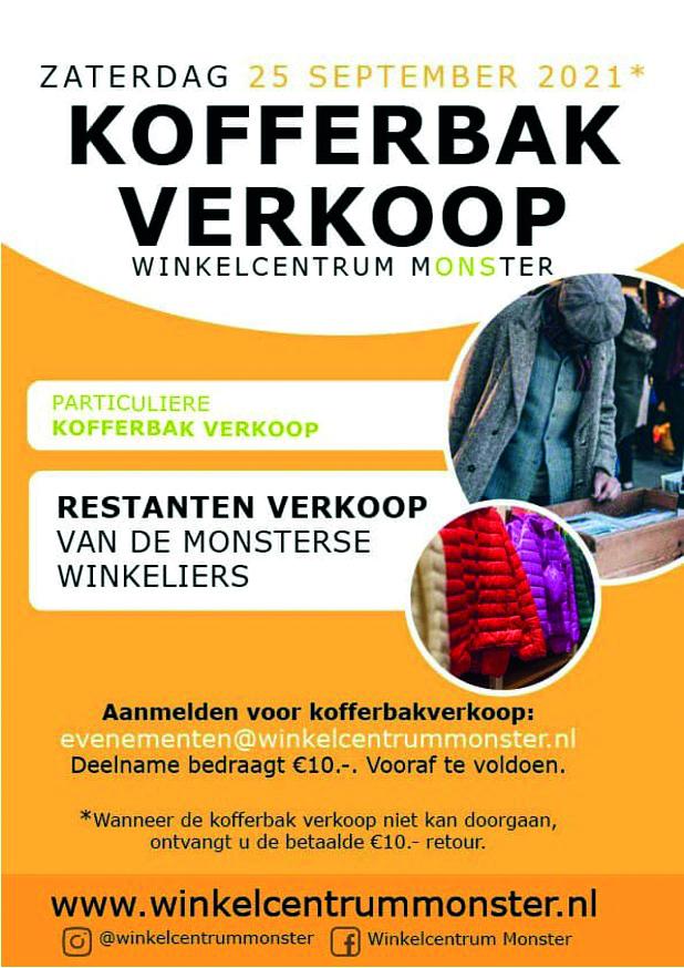 Regio nieuws Monster: Kofferbak verkoop
